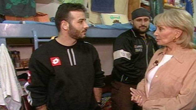 At Ease With Barbara Walters - and Hamas Fighters - in Israeli Prison (ABC News)