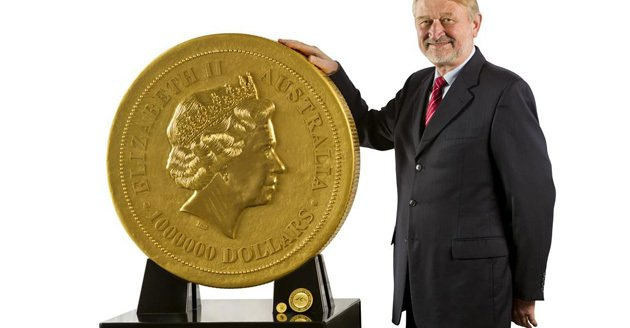 World's biggest gold coin weighs a ton, costs $57 million      (Yahoo! News)