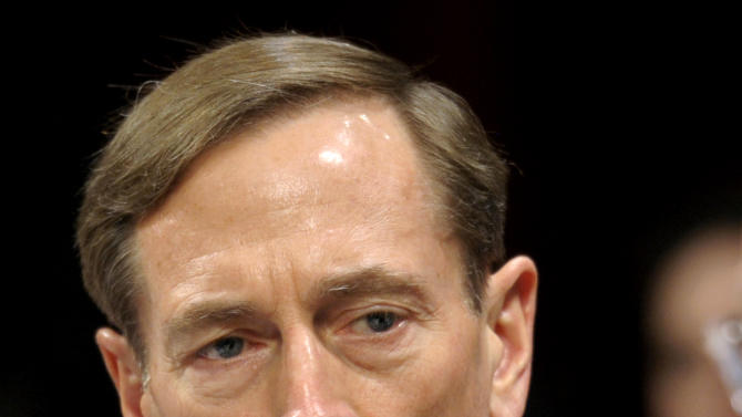 FILE - This Feb. 2, 2012 file photo shows CIA Director David Petraeus testifying on Capitol Hill in Washington. When Defense Secretary Leon Panetta pointedly warned young troops last spring to mind their ways, he may have been lecturing the wrong audience. The culture of military misconduct starts at the top. At least five current and former U.S. general officers have been reprimanded or investigated for possible misconduct in the past two weeks _ a startling run of embarrassment for a military whose stock among Americans rose so high during a decade of war that its leaders seemed almost untouchable.  (AP Photo/Cliff Owen, File)