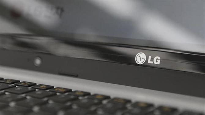 An LG Electronics' logo is pictured on a laptop computer displayed at a shop in central Seoul, July 23, 2013. REUTERS/Lee Jae-Won/Files