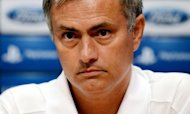 Real Madrid coach Jose Mourinho, pictured on October 2, said Monday he was happy to take flak if it means he has managed to motivate his players rather than sit back and enjoy cordial relations with them