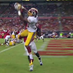 Washington Redskins quarterback Colt McCoy 2-yard touchdown to wide receiver Ryan Grant