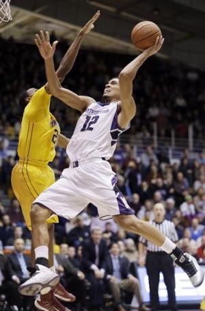 Northwestern beats No. 12 Minnesota 55-48