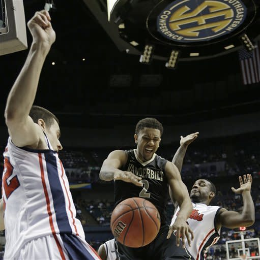Ole Miss beats Vandy 64-52 in SEC tourney semis