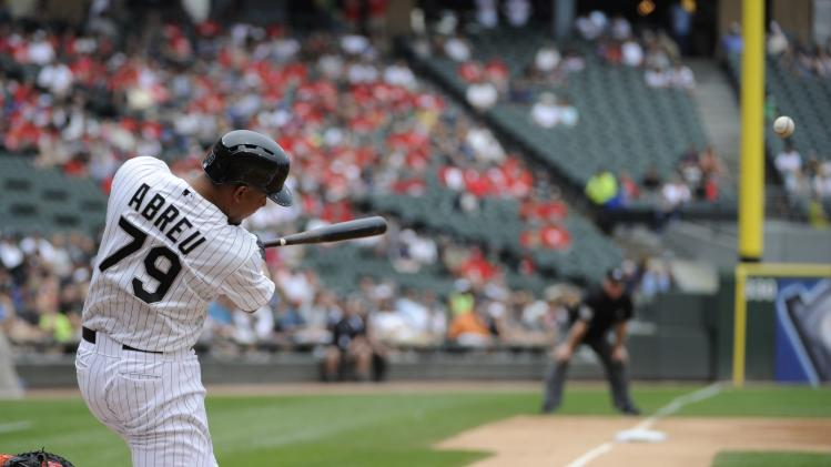 Rookie slugger Jose Abreu not crazy about participating in Home…