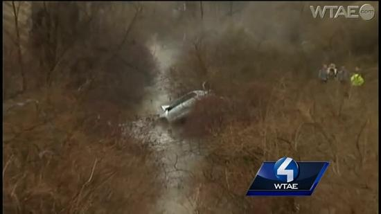 Fatal crash sends car off Route 119, down embankment