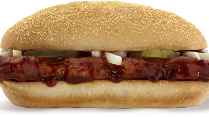 No national launch for McRib amid menu changeup