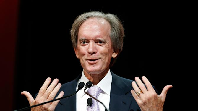 Bill Gross, co-founder and co-chief investment officer of Pacific Investment Management Company (PIMCO), speaks at the Morningstar Investment Conference in Chicago in this file photo