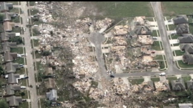 Moore, Oklahoma, Tornado's Path of Destruction