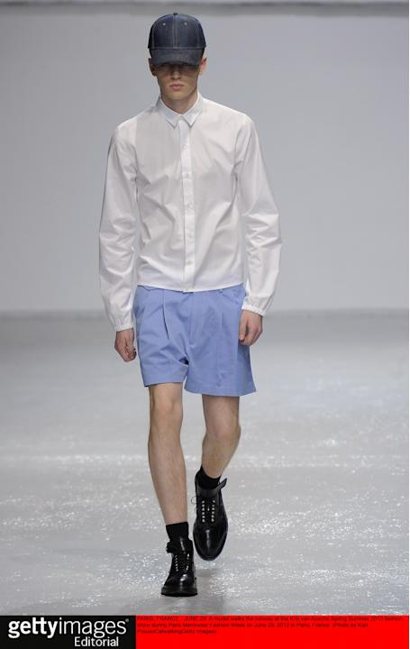 Kris van Assche - Mens Spring Summer 2013 Runway - Paris Menswear Fashion Week