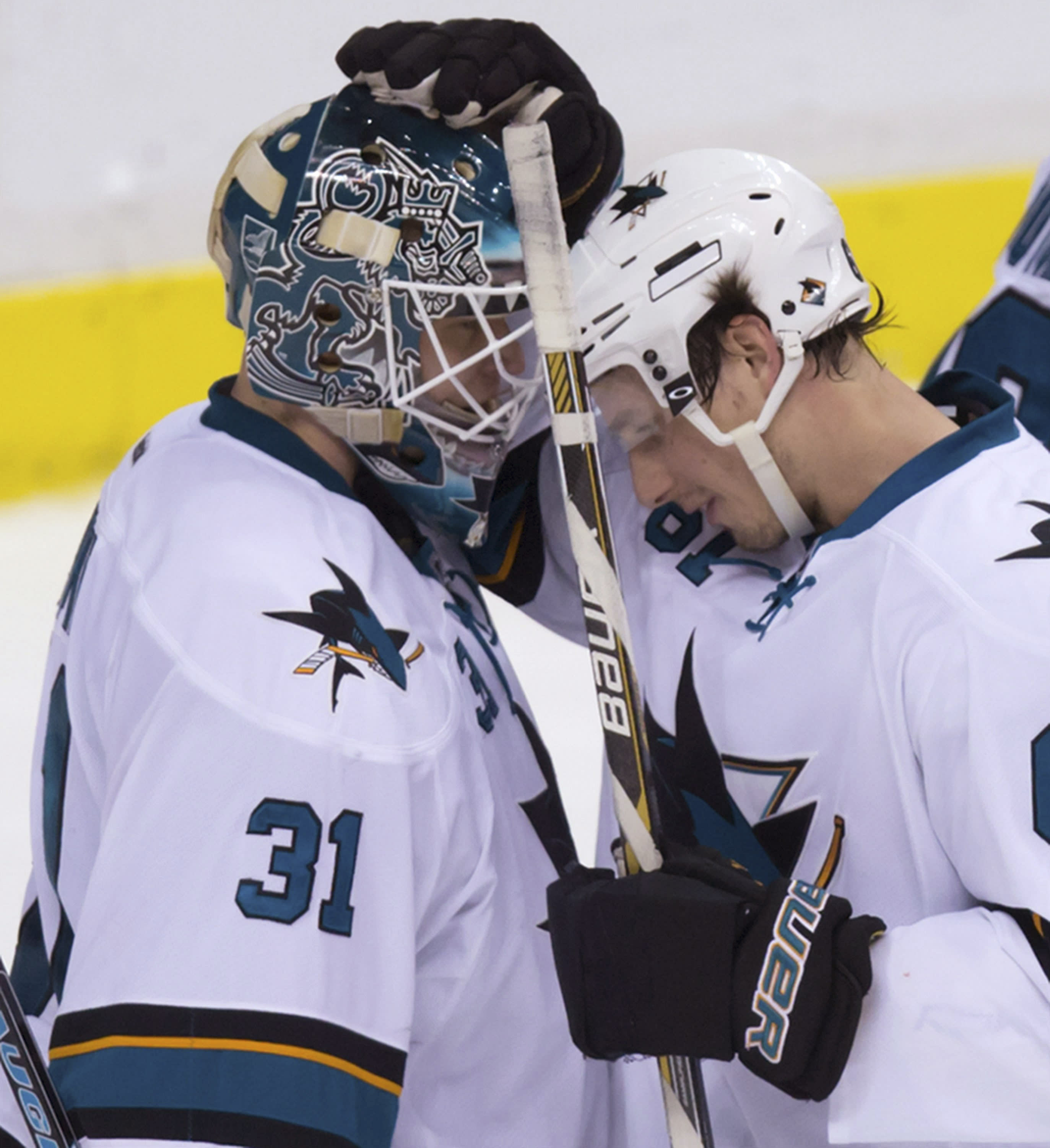 Nieto has 2 goals and assist as Sharks beat Canucks 6-2