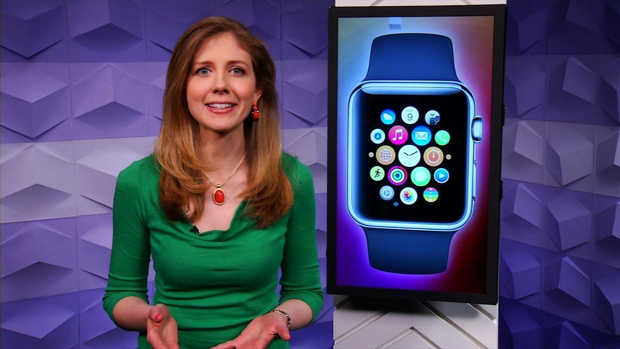 As Apple Watch lands, Samsung teases round smartwatch