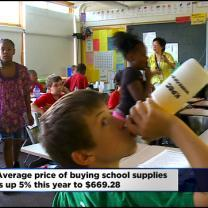 Back-To-School Costs Are Rising