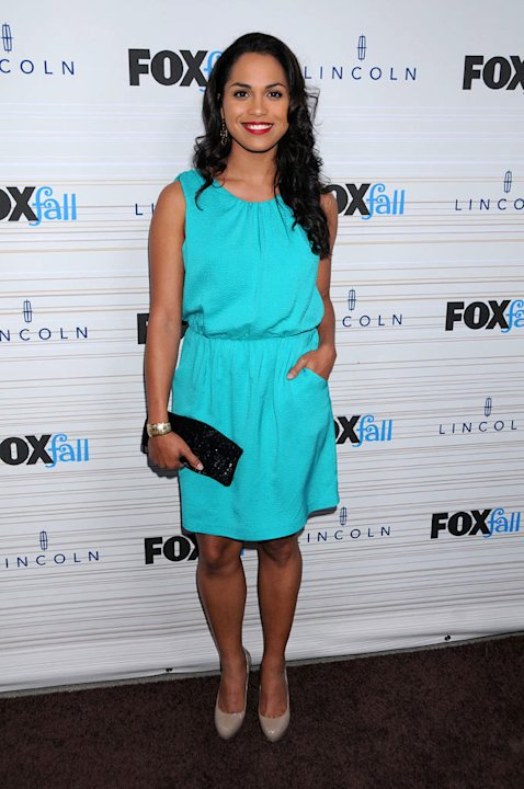"Monica Raymund of ""Lie to Me"" arrives at the 2010 Fox Fall Eco-Casino party on September 13, 2010, at Boa in West Hollywood."