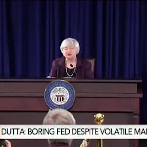 Fed Policy Far From Normal as Economy Normalizes: Dutta