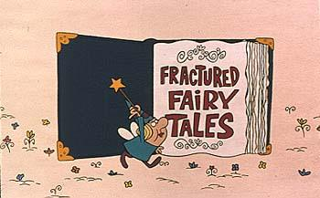The fairy introduces a brand new Fractured Fairy Tale short from Jay Ward called The Phox, The Box and The Lox.  It premiered with Dudley Do-Right!