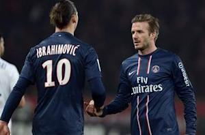 PSG will win the Champions League with Beckham, says Ibrahimovic