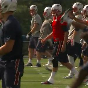 Tom Brady Returns to the Field