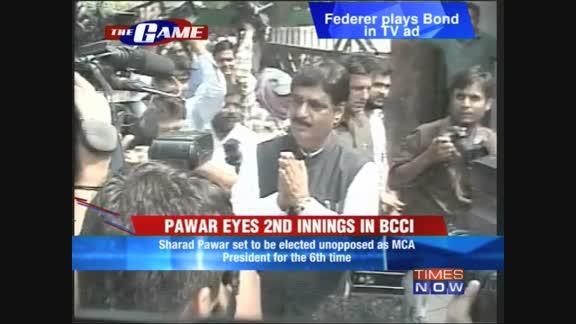 Pawar eyes 2nd innings in BCCI