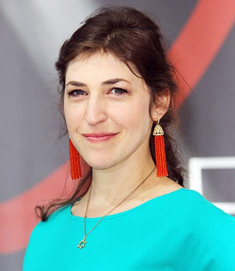 "Mayim Bialik ""Doing Fine"" After Minor Car Accident"