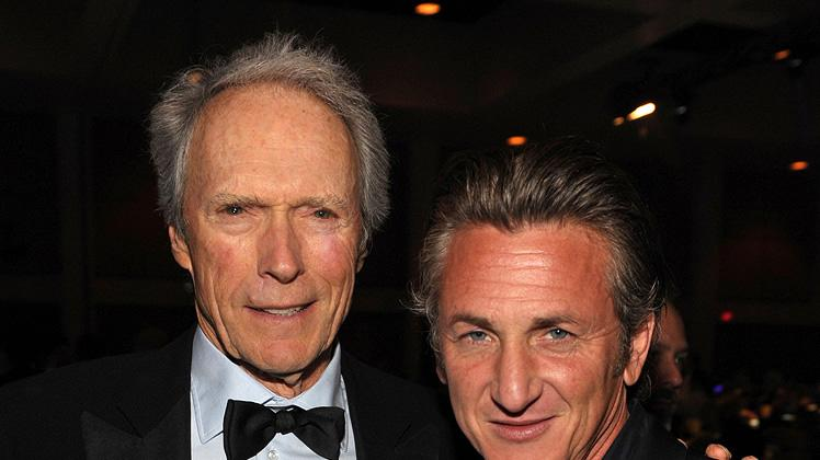 21st Annual Palm Springs Film Festival Gala 2010 Clint Eastwood Sean Penn