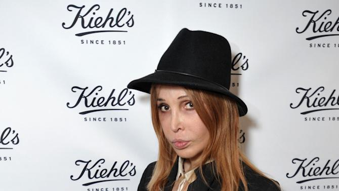 Sophia Lamar attends Kiehl's Earth Day Celebration with Zachary Quinto and Alanis Morissette at Kiehl's on Wednesday, April  17, 2013, in Santa Monica, Calif. (Photo by John Shearer/Invision for Kiehl's/AP Images)