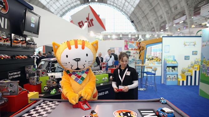 Toy Enthusiasts Attend The Toy Fair 2012