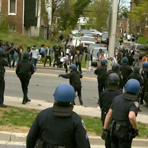 Lack of police criticized as violence spikes in Baltimore