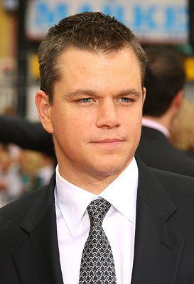 Matt Damon at the Los Angeles premiere of Warner Bros. Pictures' Ocean's Thirteen