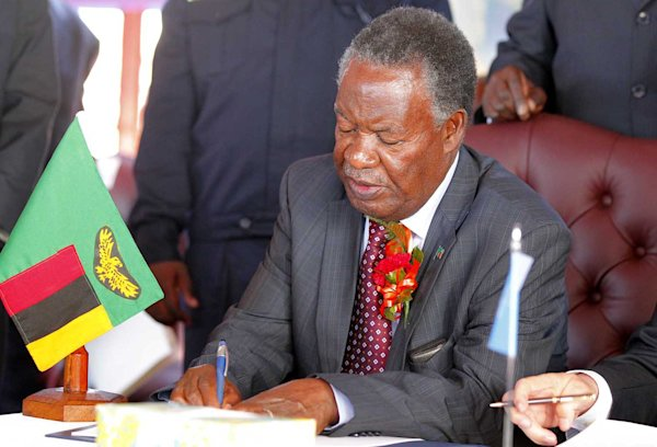 Zambian ex-minister arrested for 'celebrating' president's death