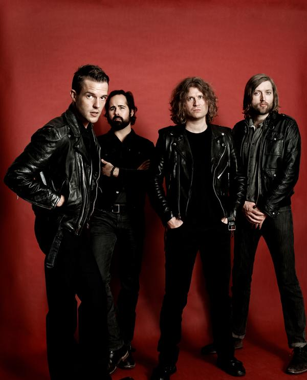 The Killers Rock for Charity on 'I Feel It in My Bones' - Premiere