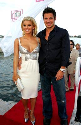 Jessica Simpson and Nick Lachey MTV Video Music Awards - 8/29/2004