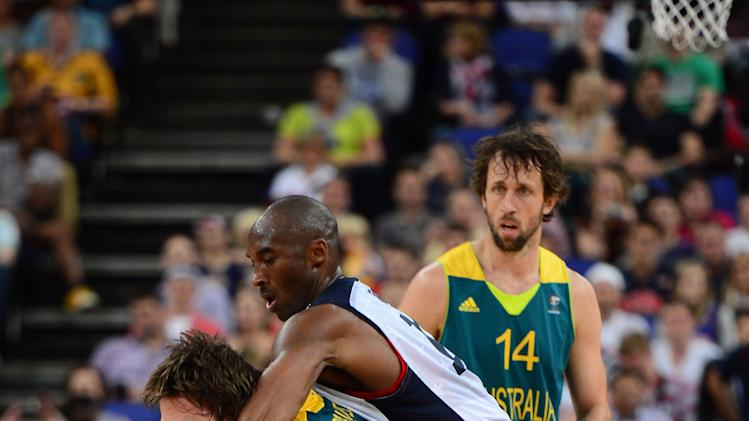 Olympics: Basketball-Men's Quarterfinal-USA vs AUS
