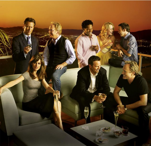 The cast of Studio 60 on the Sunset Strip on NBC.