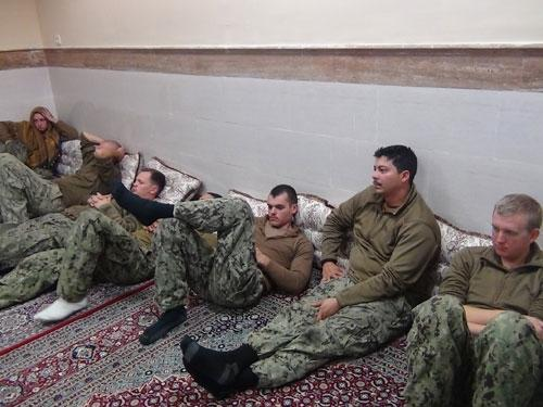 US Navy to discipline eight over capture by Iran at sea