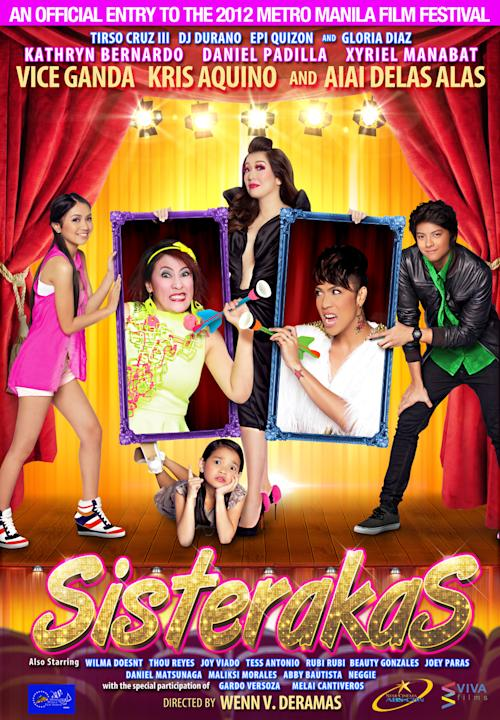 """Sisterakas"" movie poster"