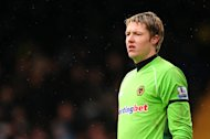 Wayne Hennessey has been out of action since April and may now need surgery