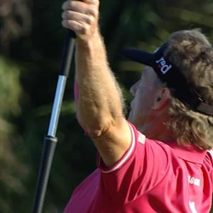 Bernhard Langer extends his lead by seven at Chubb Classic