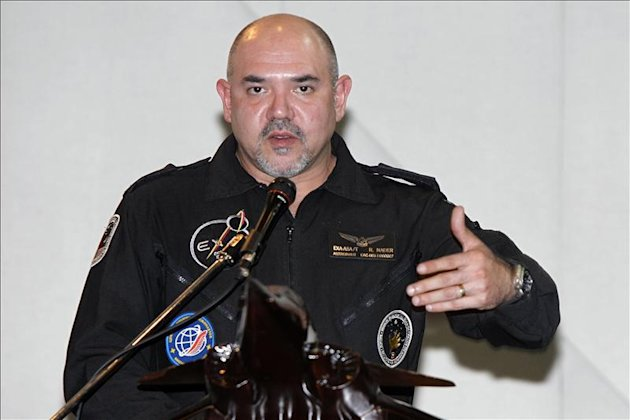 En la imagen, el director de la Agencia Civil Espacial Ecuatoriana (EXA), Ronnie Nder. EFE/Archivo