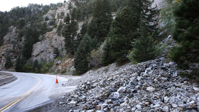 Colorado hustles to repair flood damaged roads