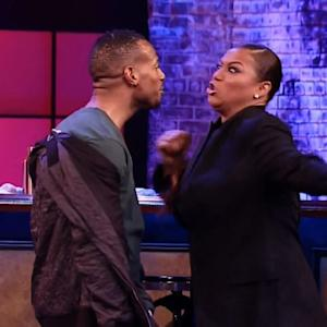 Queen Latifah Versus Marlon Wayans in 'Lip Sync Battle'