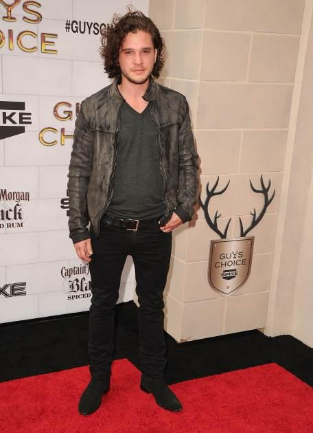 Kit Harington attends Spike TV's 6th Annual 'Guys Choice' Awards at Sony Studios on June 2, 2012 -- Getty Images