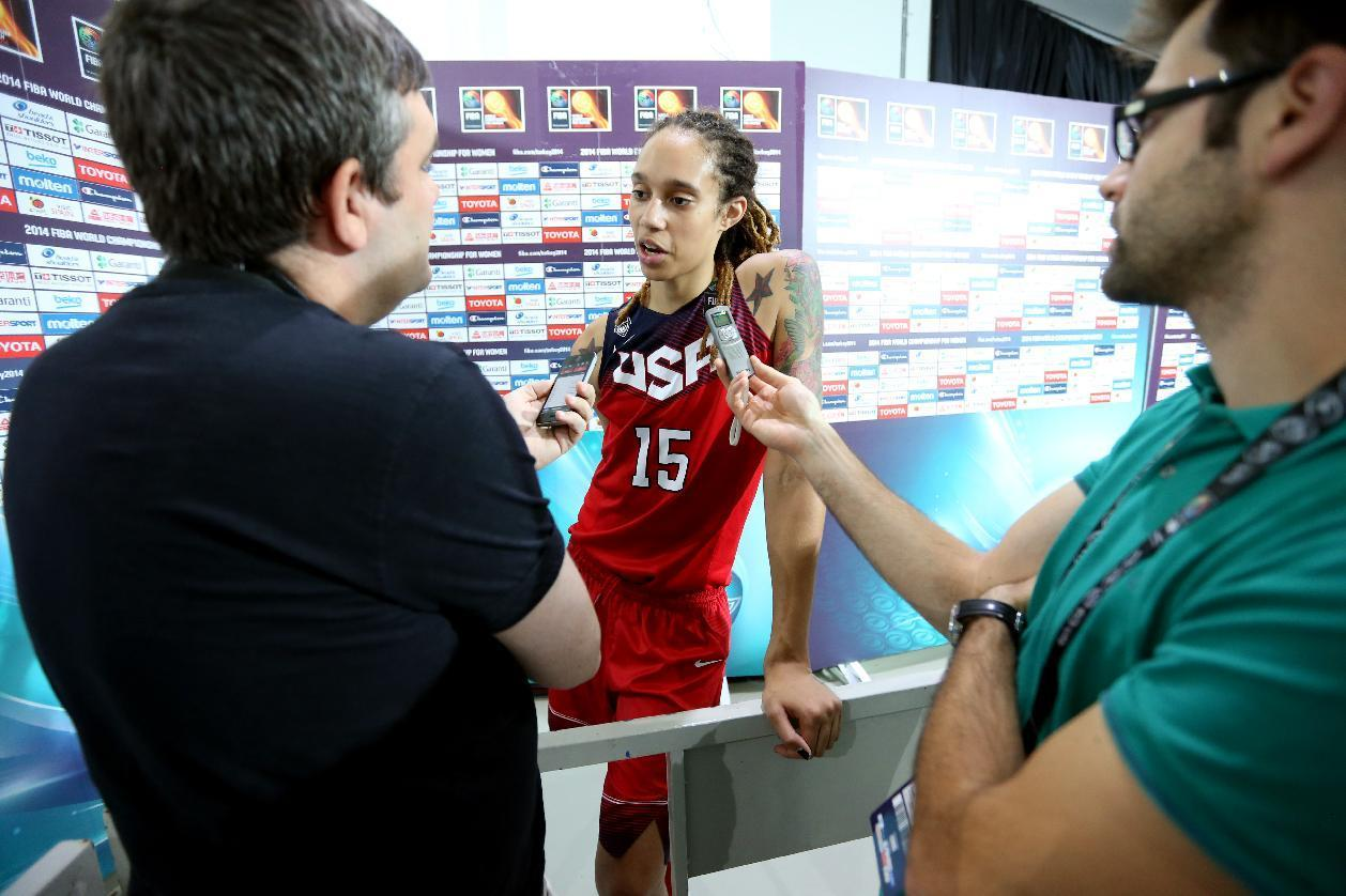 Griner opts out of US women's basketball training camp