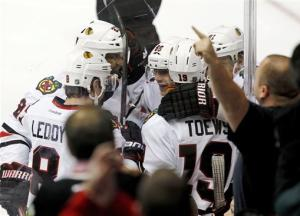 Phoenix knocks off Chicago 3-2 in overtime