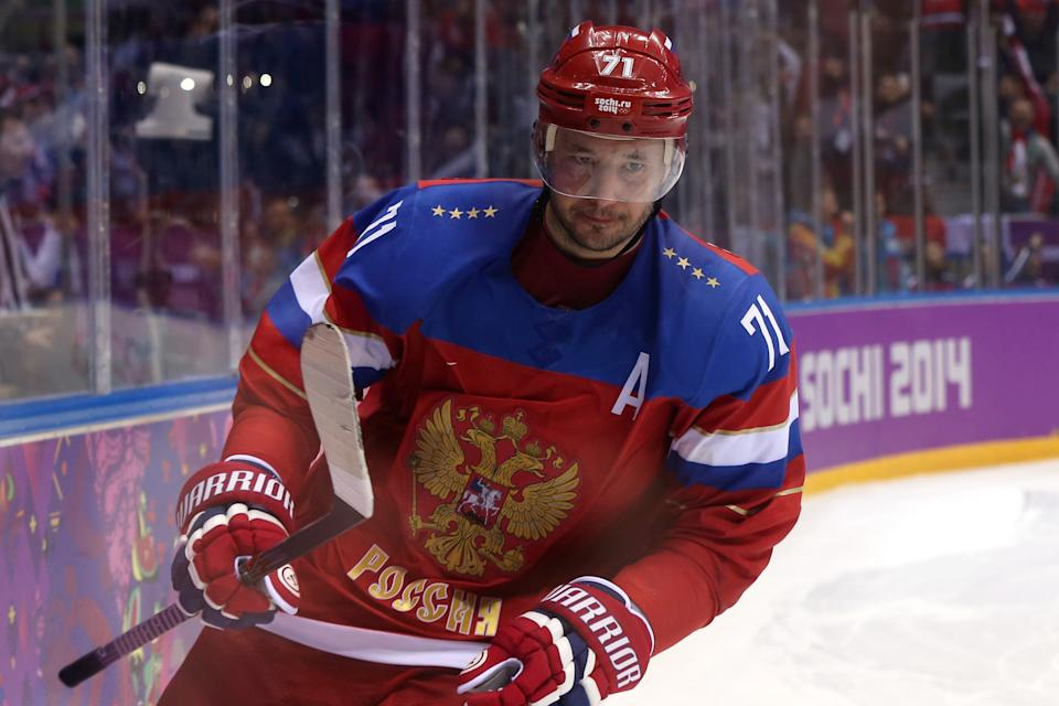 KHL: Report - Ilya Kovalchuk Joining Russian League Expansion Team In China