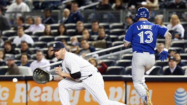 MLB: Toronto Blue Jays at New York Yankees