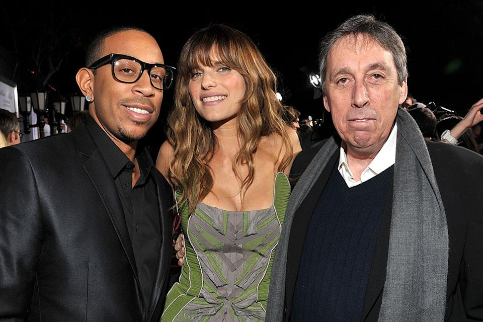 No Strings Attached LA Premiere 2011 Ludacris Lake Bell Ivan Reitman
