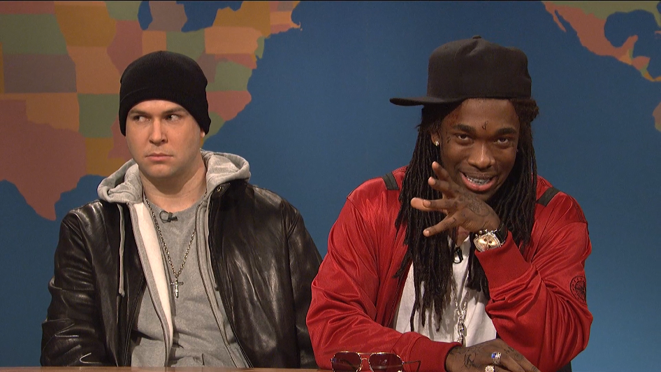Weekend Update: Lil' Wayne and Eminem