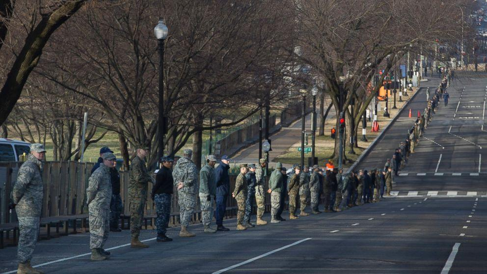 Inside the Massive Inauguration Security Effort