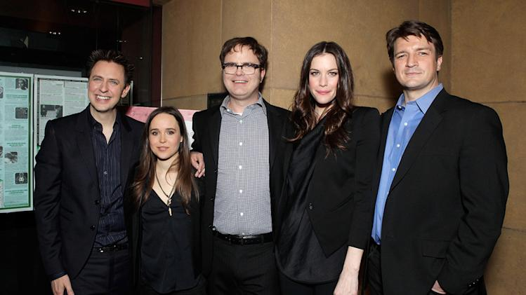 Super LA Premiere 2011 James Gunn Ellen Page Rainn Wilson Liv Tyler Nathan Fillion